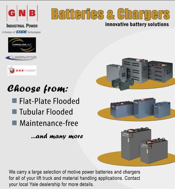 GNB Industrial Power Batteries & Chargers